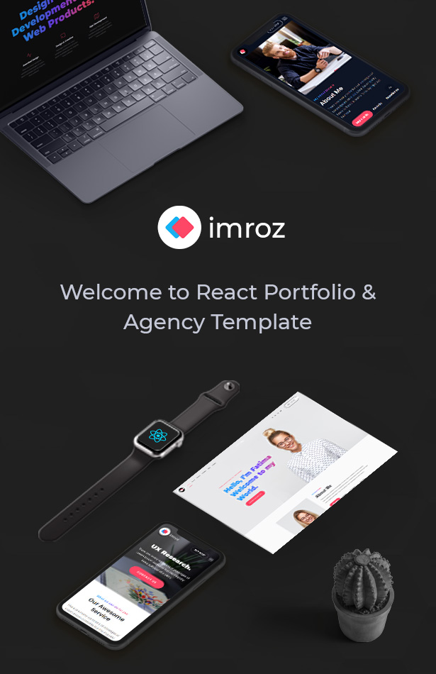 Imroz - React Agency & Portfolio Template - 5