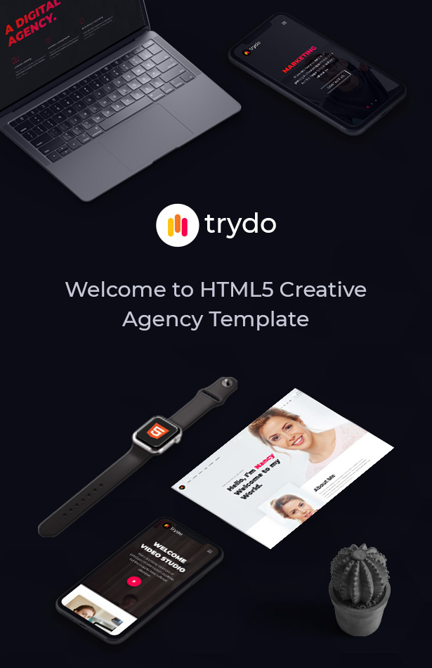 Trydo - Creative Agency and Portfolio Bootstrap Template - 6