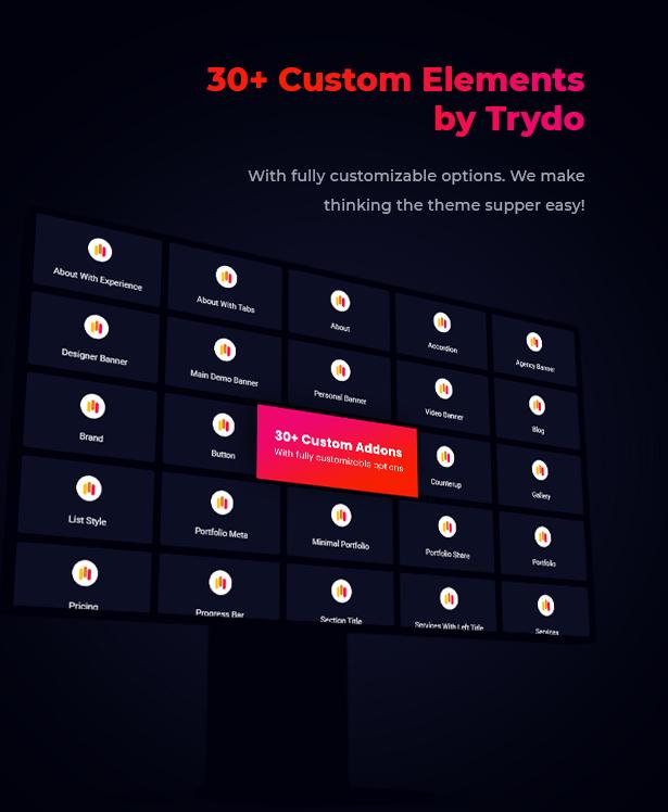 Trydo - Creative Agency & Portfolio Theme - 16