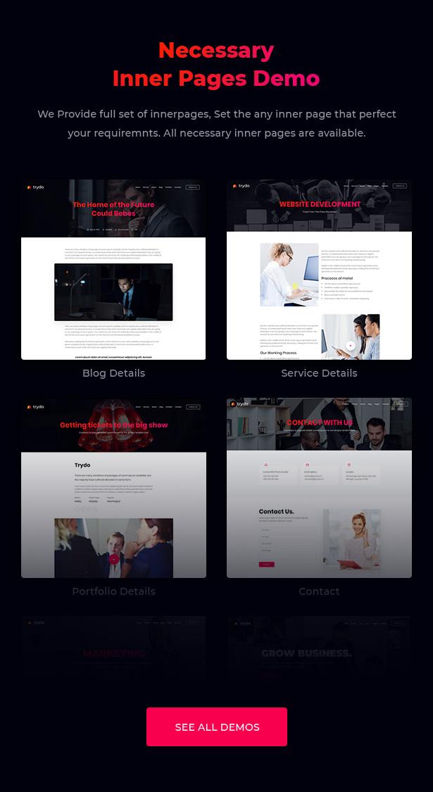 Trydo - Creative Agency & Portfolio Theme - 8
