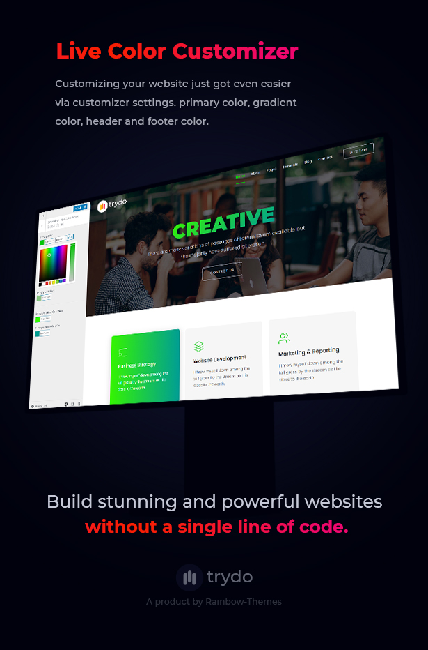 Trydo - Creative Agency & Portfolio WordPress Theme - 16
