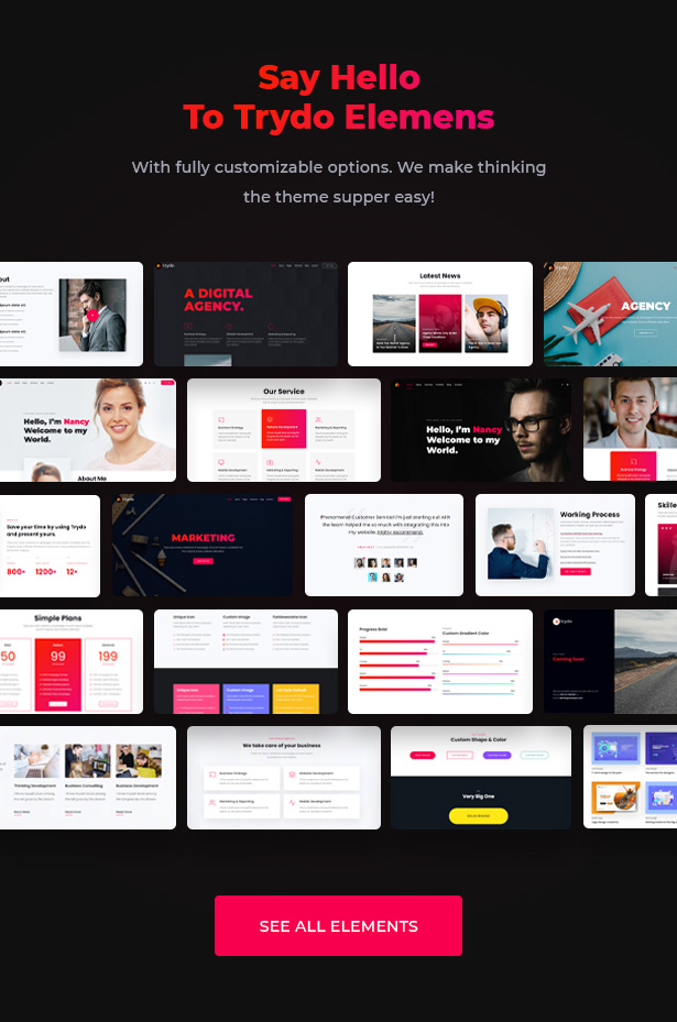 Trydo - Creative Agency & Portfolio WordPress Theme - 11