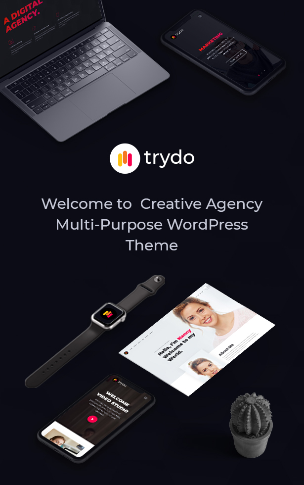Trydo - Creative Agency & Portfolio WordPress Theme - 7