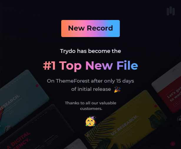 Trydo - Creative Agency & Portfolio WordPress Theme - 4